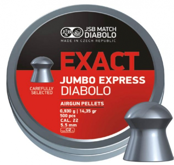 JSB Exact Jumbo 5,5mm (14,35grains)