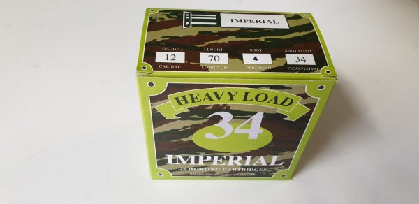 Imperial 34gr No 3-4-5-6-7-8-9