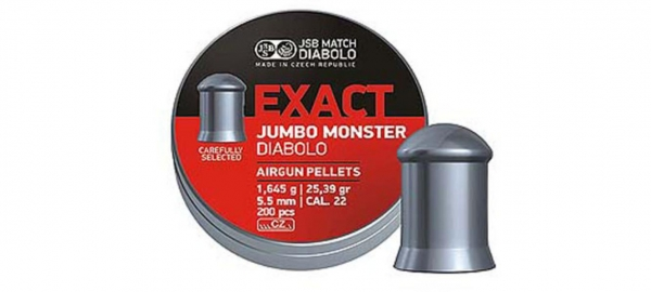 JSB Exact Jumbo Monster 5,5mm (25,39grains)