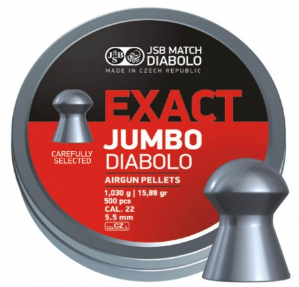 JSB Exact Jumbo 5,5mm (15,89grains)