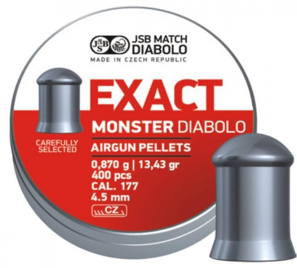 JSB Exact Monster 4,5mm (13,43grain)
