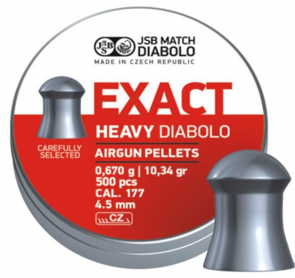 JSB Exact Heavy 4,5mm (10,34grain)