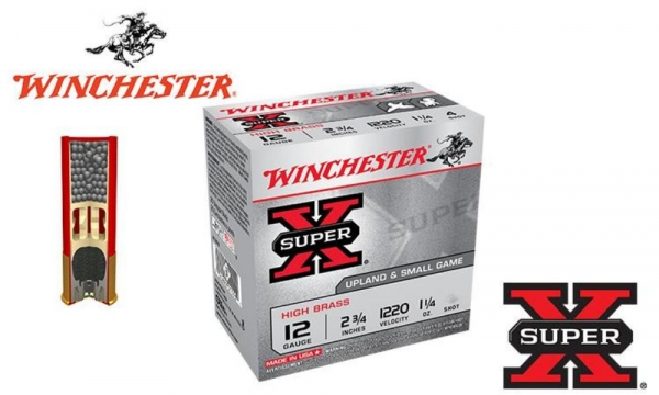 Winchester Super-X High Brass Game loads 36gr.