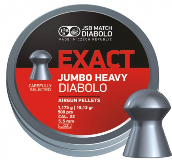 JSB Exact Jumbo 5,5mm (18,13grains)